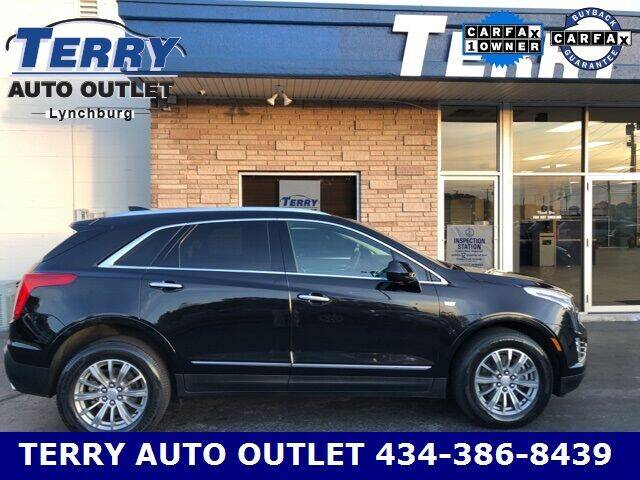 2017 Cadillac XT5 for sale at Terry Auto Outlet in Lynchburg VA