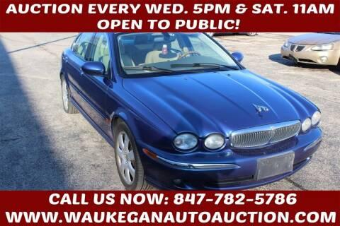 2004 Jaguar X-Type for sale at Waukegan Auto Auction in Waukegan IL