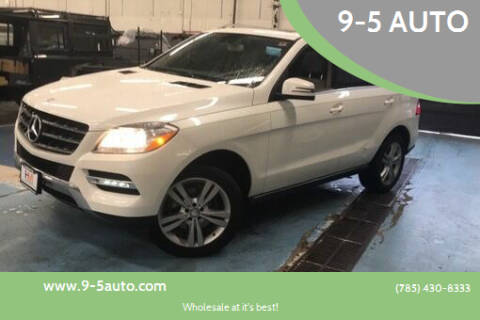 2014 Mercedes-Benz M-Class for sale at 9-5 AUTO in Topeka KS