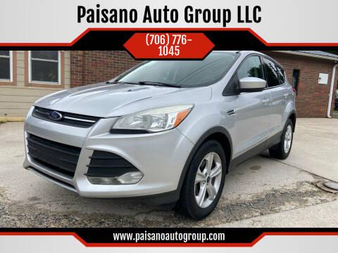2013 Ford Escape for sale at Paisano Auto Group LLC in Cornelia GA
