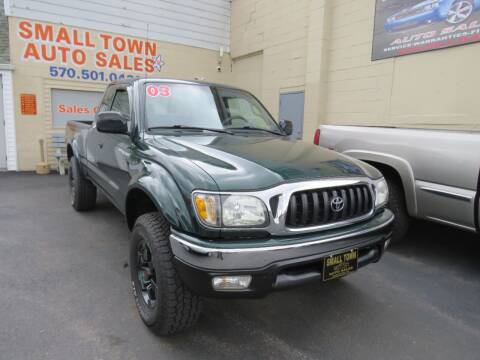 2003 Toyota Tacoma for sale at Small Town Auto Sales in Hazleton PA