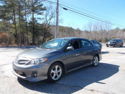 2012 Toyota Corolla for sale at Manchester Motorsports in Goffstown NH