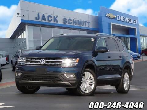 2018 Volkswagen Atlas for sale at Jack Schmitt Chevrolet Wood River in Wood River IL
