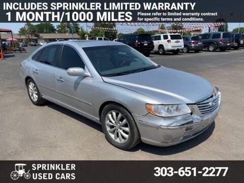 2007 Hyundai Azera for sale at Sprinkler Used Cars in Longmont CO