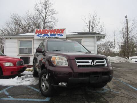 2007 Honda Pilot for sale at Midway Cars LLC in Indianapolis IN