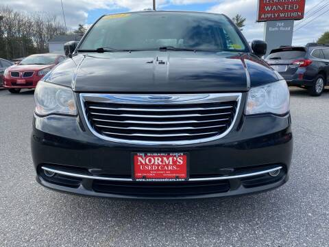 2011 Chrysler Town and Country for sale at Norm's Used Cars INC. - Trucks By Norm's in Wiscasset ME
