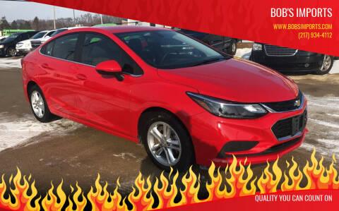 2017 Chevrolet Cruze for sale at Bob's Imports in Clinton IL