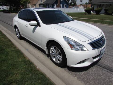 2012 Infiniti G25 Sedan for sale at First Choice Automobile in Uniondale NY