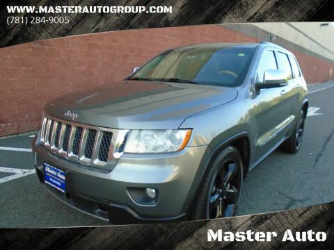 2012 Jeep Grand Cherokee for sale at Master Auto in Revere MA