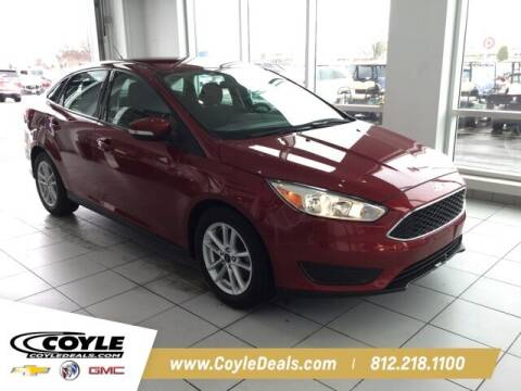 2017 Ford Focus for sale at COYLE GM - COYLE NISSAN - Coyle Nissan in Clarksville IN