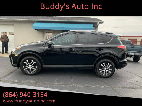 2016 Toyota RAV4 for sale at Buddy's Auto Inc in Pendleton, SC