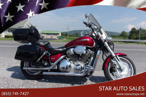 2003 Honda VTX for sale at Star Auto Sales in Fayetteville PA