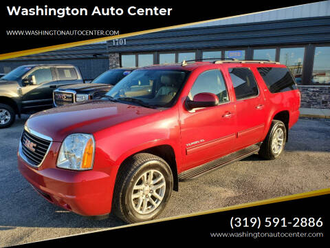 2013 GMC Yukon XL for sale at Washington Auto Center in Washington IA