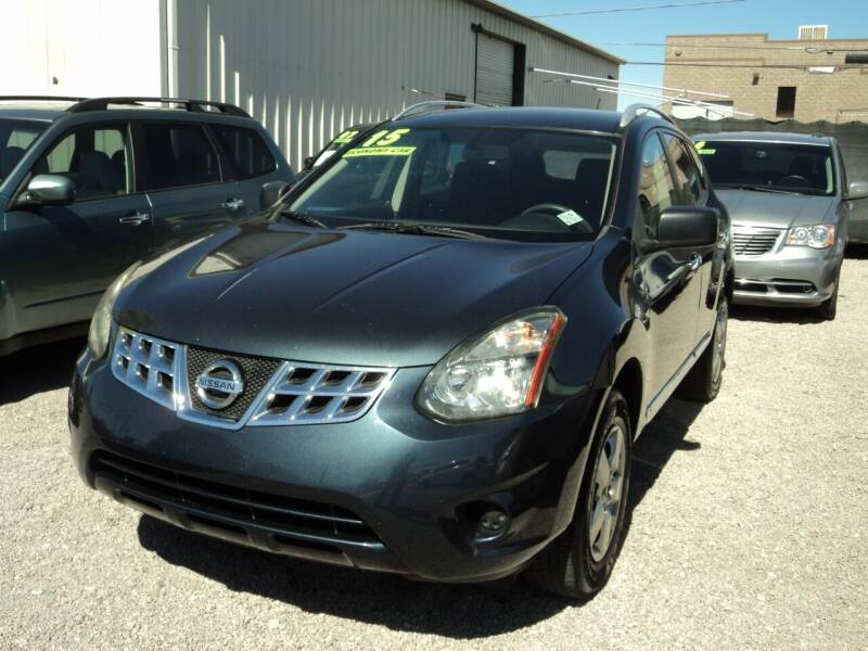 2015 Nissan Rogue Select for sale at DESERT AUTO TRADER in Las Vegas NV