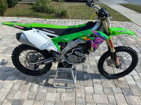 2018 Kawasaki 250KX for sale at Mix Autos in Orlando FL