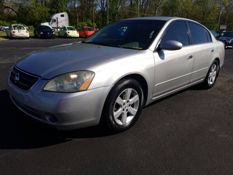 2003 Nissan Altima for sale at Germantown Auto Sales in Carlisle OH