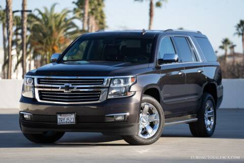 2016 Chevrolet Tahoe for sale at Euro Auto Sales in Santa Clara CA
