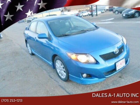 2010 Toyota Corolla for sale at Dales A-1 Auto Inc in Jamestown ND