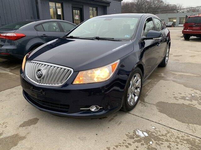 2012 Buick LaCrosse for sale at Martell Auto Sales Inc in Warren MI