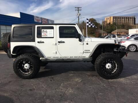 2012 Jeep Wrangler Unlimited for sale at Brian Jones Motorsports Inc in Danville VA