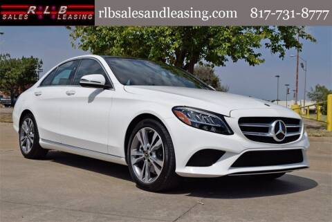 2020 Mercedes-Benz C-Class for sale at RLB Sales and Leasing in Fort Worth TX