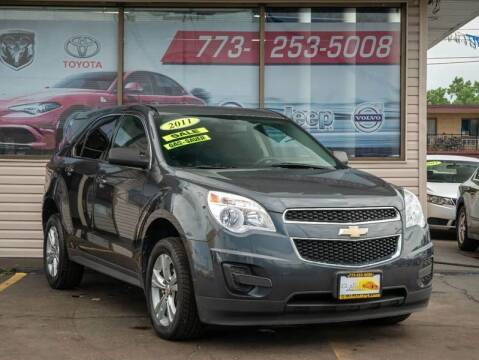 2011 Chevrolet Equinox for sale at TOP YIN MOTORS in Mount Prospect IL