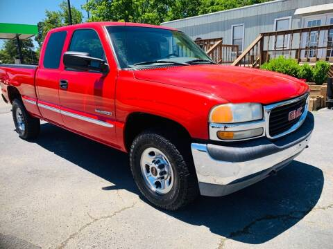 1999 GMC Sierra 2500 for sale at BRYANT AUTO SALES in Bryant AR