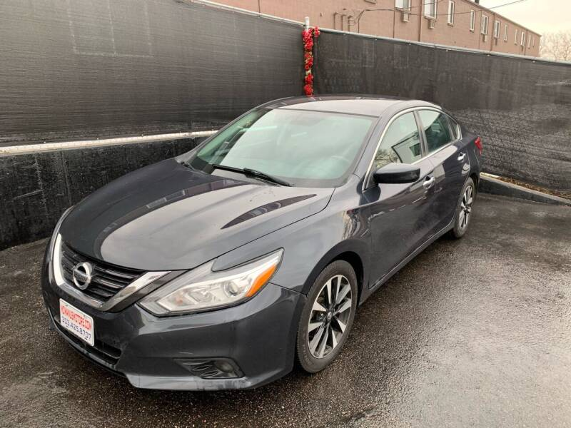 2018 Nissan Altima for sale at McManus Motors in Wheat Ridge CO