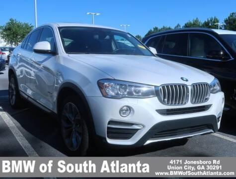 2015 BMW X4 for sale at Carol Benner @ BMW of South Atlanta in Union City GA