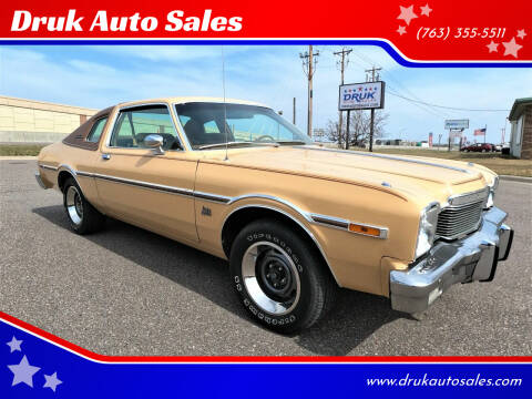 1977 Dodge Aspen for sale at Druk Auto Sales in Ramsey MN