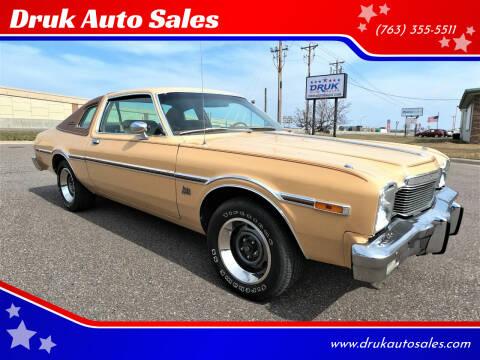 1977 Dodge Aspen for sale at Druk Auto Sales in Ramsey MN