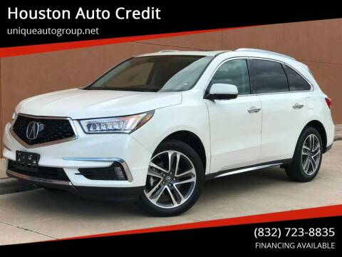 2017 Acura MDX for sale at Houston Auto Credit in Houston TX
