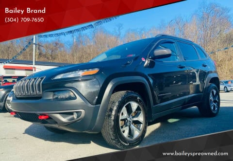 2016 Jeep Cherokee for sale at Bailey's Pre-Owned Autos in Anmoore WV