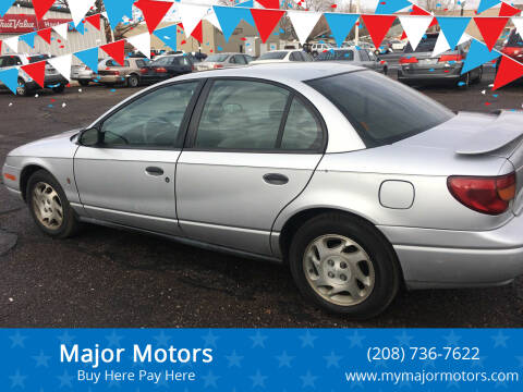 2002 Saturn S-Series for sale at Major Motors in Twin Falls ID