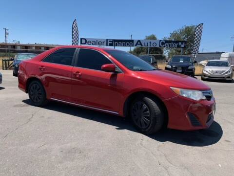 2013 Toyota Camry for sale at Dealer Finance Auto Center LLC in Sacramento CA