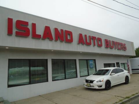 2015 Nissan Altima for sale at Island Auto Buyers in West Babylon NY