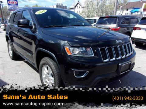 2014 Jeep Grand Cherokee for sale at Sam's Auto Sales in Cranston RI