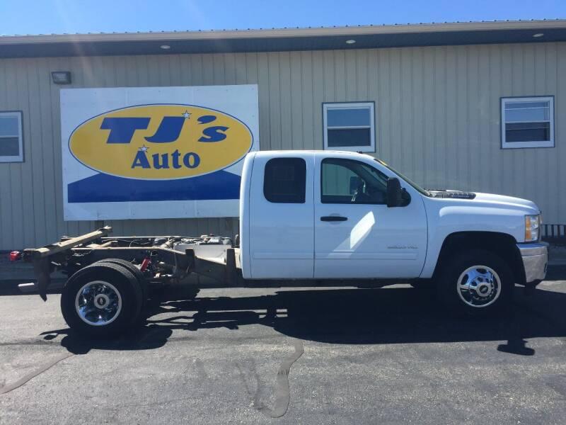 2013 Chevrolet Silverado 3500HD for sale at TJ's Auto in Wisconsin Rapids WI