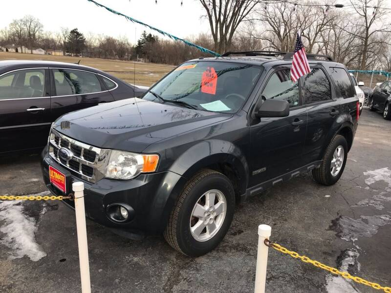 2008 Ford Escape for sale at Ultimate Auto Sales in Crown Point IN