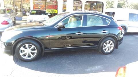 2008 Infiniti EX35 for sale at Tony's Auto Sales in Jacksonville FL