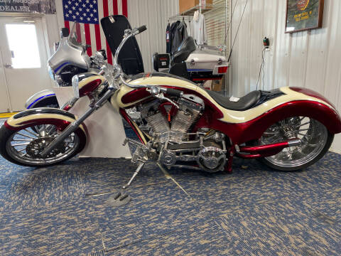 2006 Covington Custom Chopper Softail SLX for sale at SEMPER FI CYCLE in Tremont IL