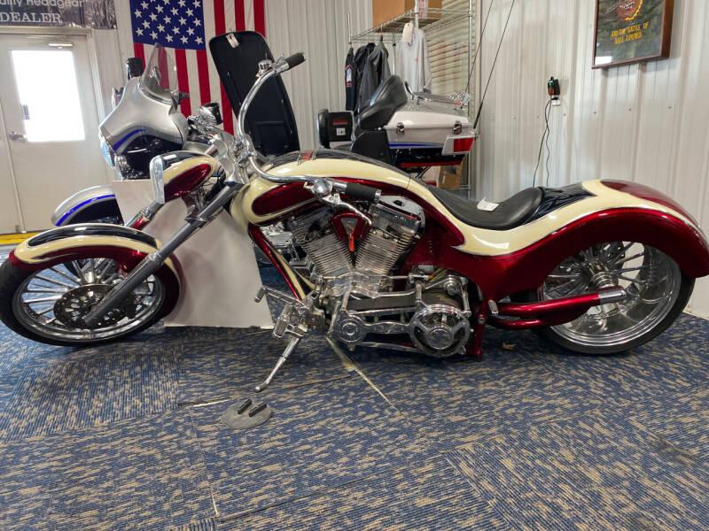 2006 Covington Custom Chopper Softail SLX for sale at SEMPER FI CYCLE in Tremont IL