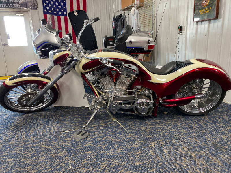 2006 Covington Custom Chopper Softail SLX Never Titled for sale at SEMPER FI CYCLE in Tremont IL