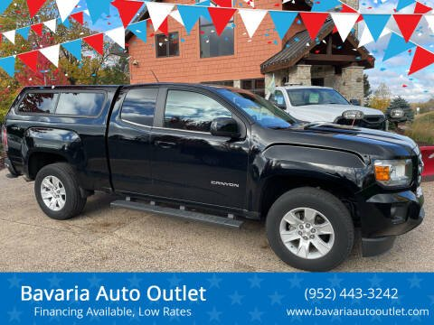 2016 GMC Canyon for sale at Bavaria Auto Outlet in Victoria MN
