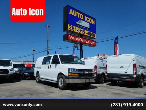 2018 Chevrolet Express Cargo for sale at Auto Icon in Houston TX