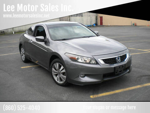 2010 Honda Accord for sale at Lee Motor Sales Inc. in Hartford CT