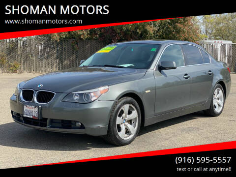 2005 BMW 5 Series for sale at SHOMAN AUTO GROUP in Davis CA