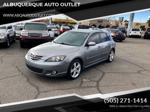 2005 Mazda MAZDA3 for sale at ALBUQUERQUE AUTO OUTLET in Albuquerque NM