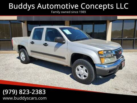 2008 GMC Canyon for sale at Buddys Automotive Concepts LLC in Bryan TX