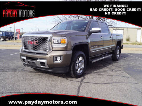 2015 GMC Sierra 2500HD for sale at Payday Motors in Wichita And Topeka KS